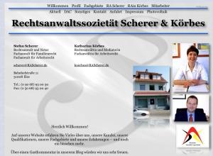 © Rechtsanwaltssozietät Scherer & Körbes